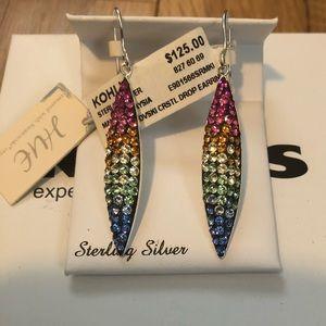 Jewelry - Swarovski multi drop earrings